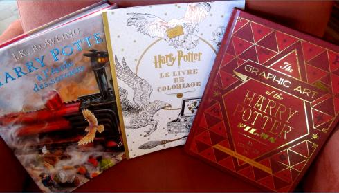 CONCOURS : Harry Potter édition illustrée, livre de coloriage et livre MinaLima !