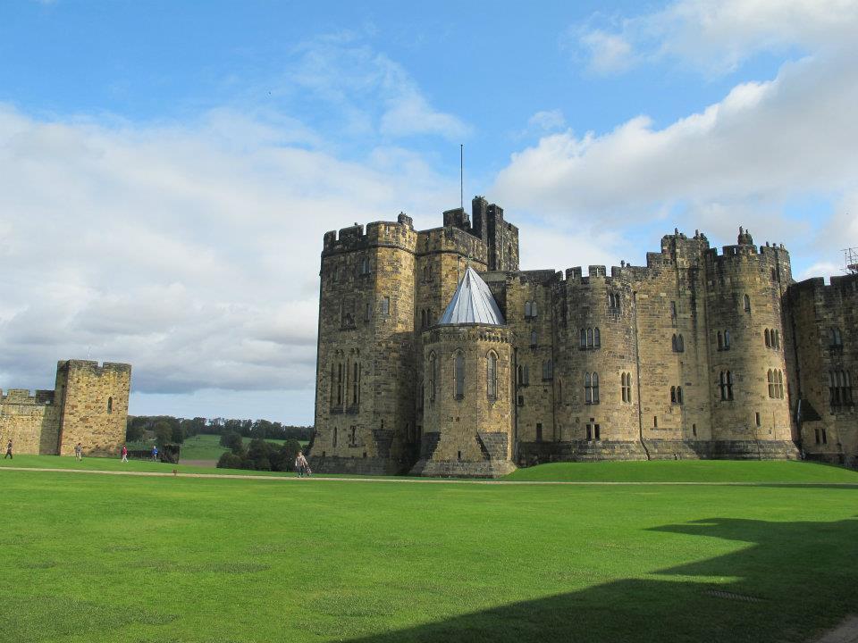 Détour par Poudlard ; visite du château d'Alnwick [Archive blog]