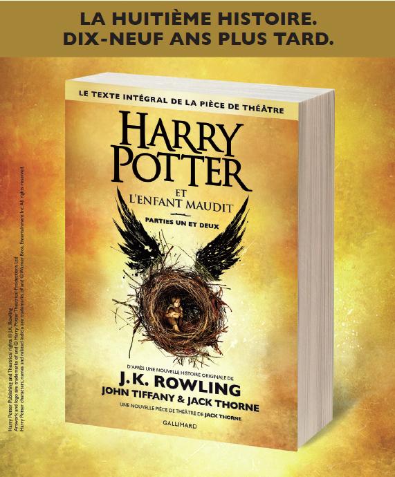 Harry Potter et l'Enfant maudit, en français le 14 octobre !