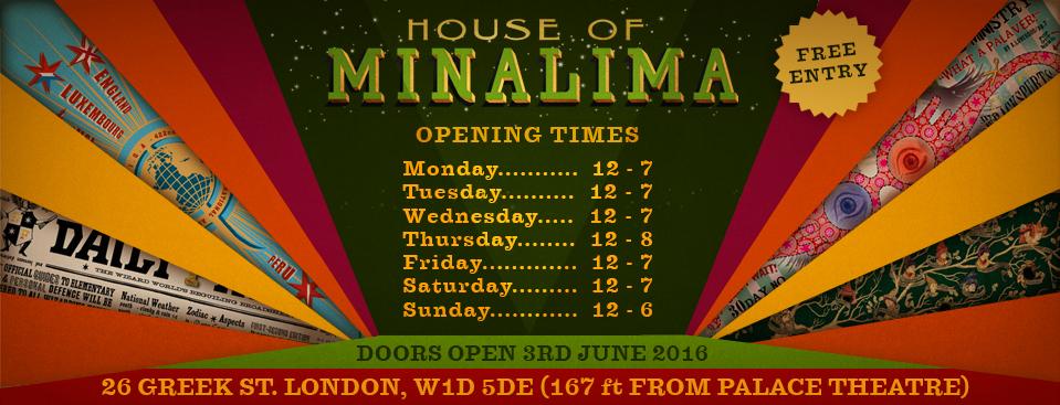 Visite de la House of MinaLima