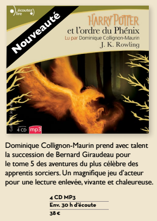 Exclusif : retour des audiobooks Harry Potter !