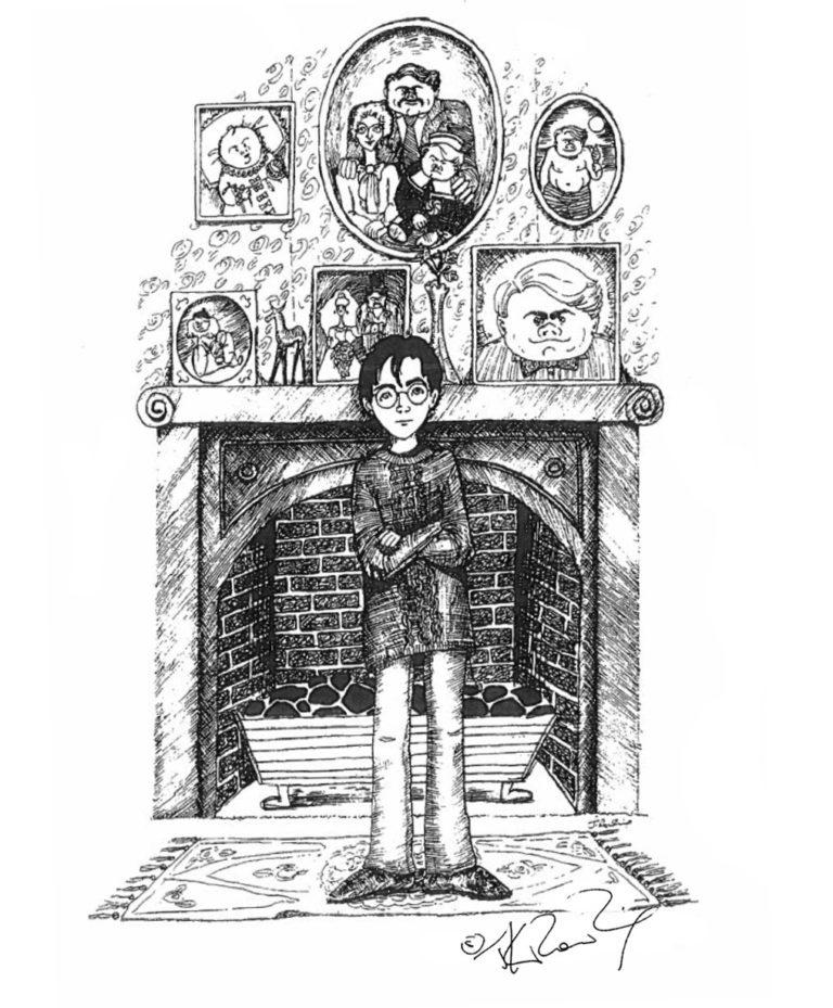 De nouveaux croquis de J.K. Rowling !