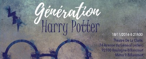 """Participez à la soirée """"Génération Harry Potter"""" de Poudlard12 !"""