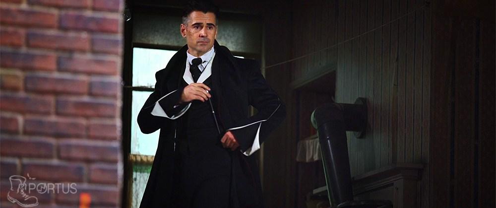 Colin Farrell en Perceval Graves dans les Animaux Fantastiques.