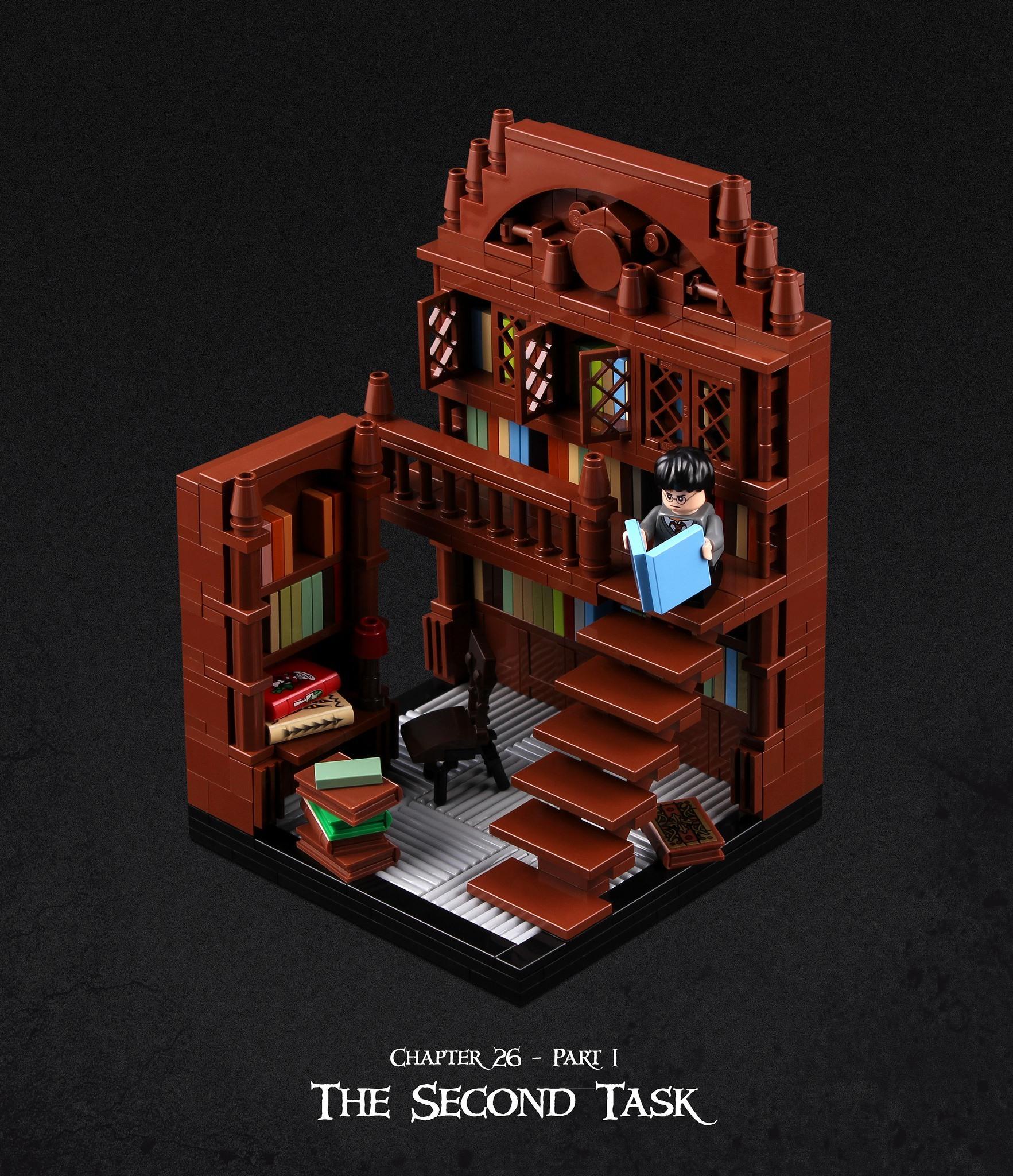 Harry Potter et la coupe de feu recréé en LEGO