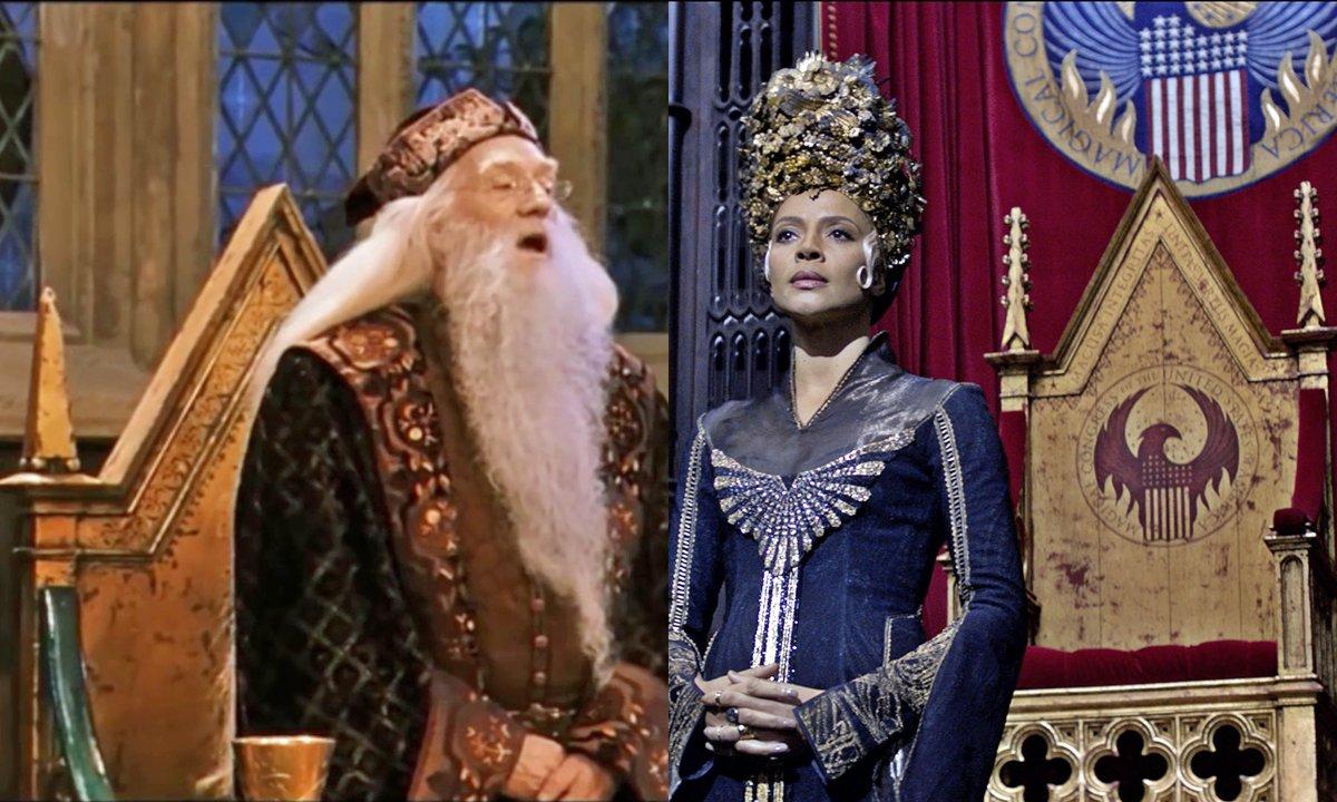Les Animaux Fantastiques : les références à Harry Potter (films)