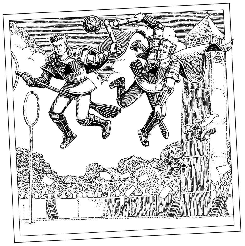 Quidditch à travers les âges - Batteurs - Tomislav Tomic
