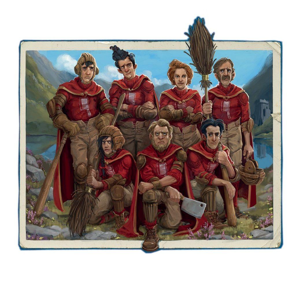 Quidditch à travers les âges - Jonny Duddle