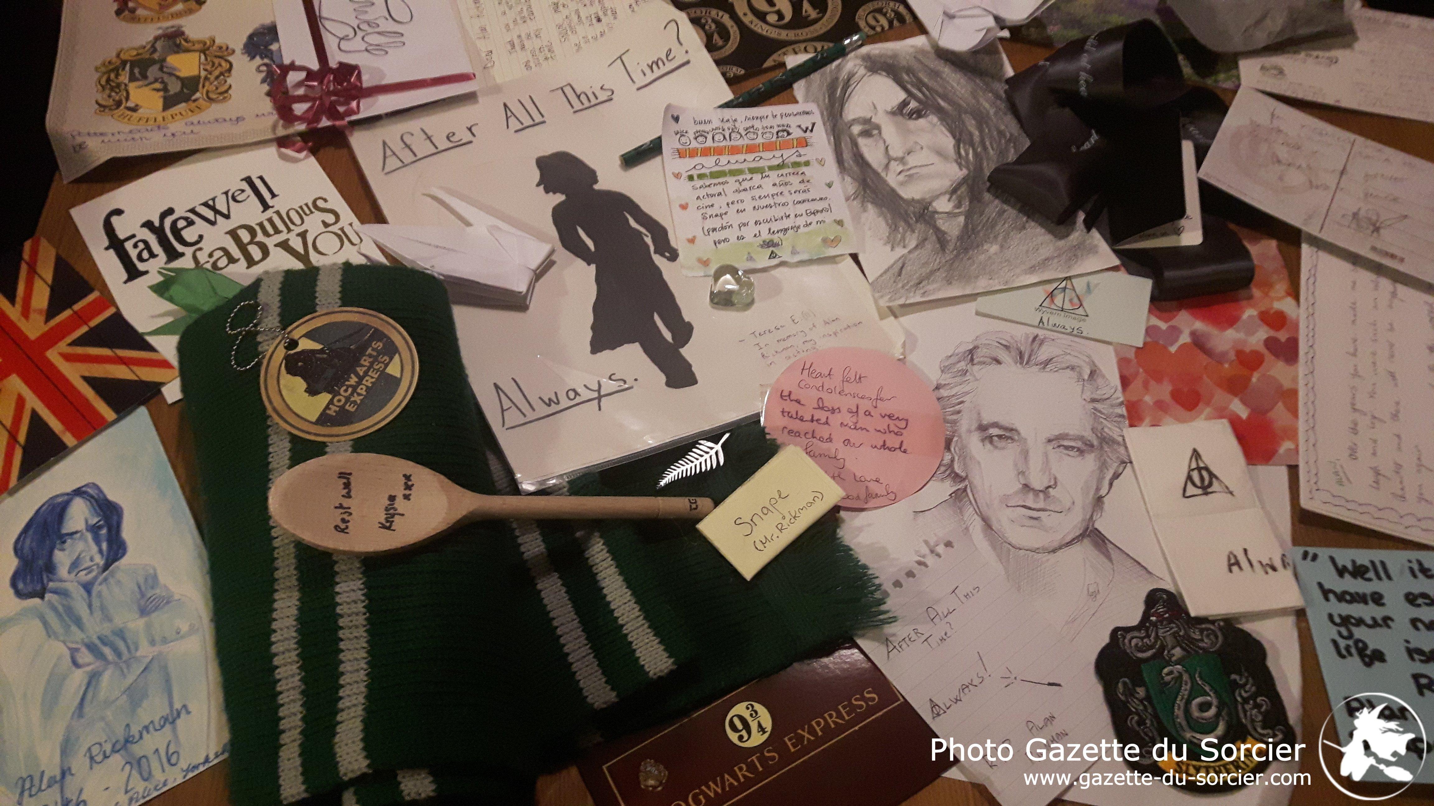 Hommage à Alan Rickman : retour au quai 9 3/4
