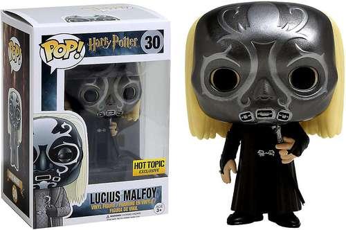 Funko Pop 30 Lucius Malefoy Mangemort