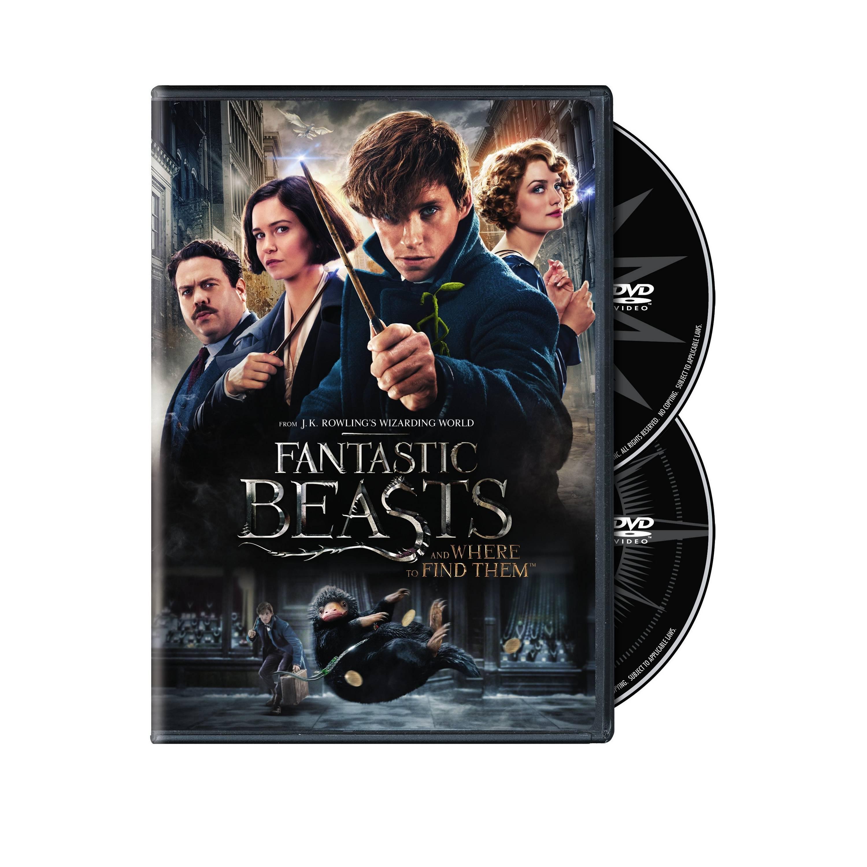 Bonus et visuels Blu-ray pour Les Animaux fantastiques