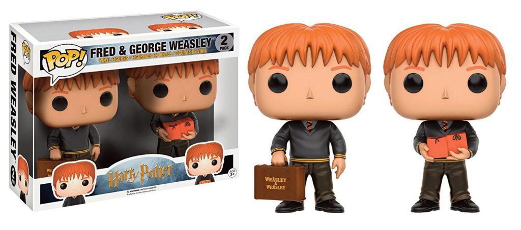 Funko Pop pack Fred et George Weasley