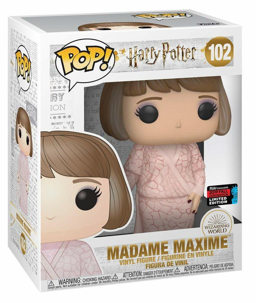 Funko Pop 102 Madame Maxime Bal de Noël