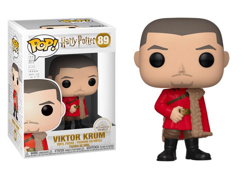 Funko Pop 89 Viktor Krum bal de Noël