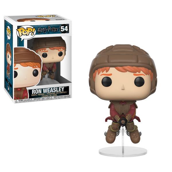 Funko Pop 54 Ron Weasley Quidditch sur balai