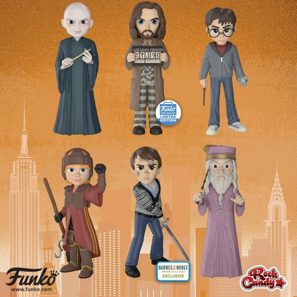 Deuxième vague de figurines Harry Potter par Rock Candy