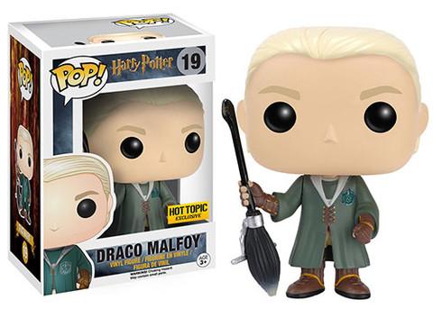Funko Pop 19 Drago Malefoy tenue Quidditch