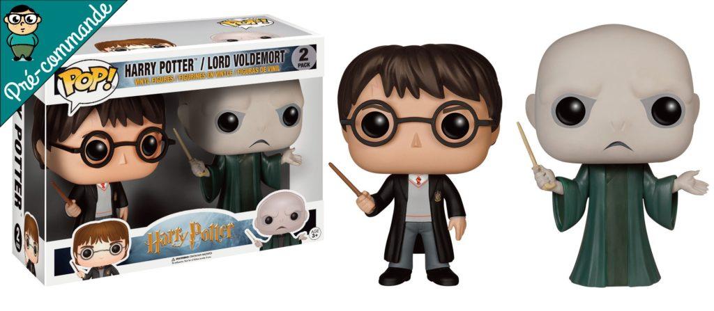 Funko Pop Pack Harry et Voldemort