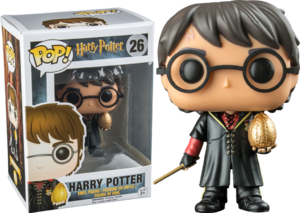 Funko Pop 26 Harry Oeuf d'or
