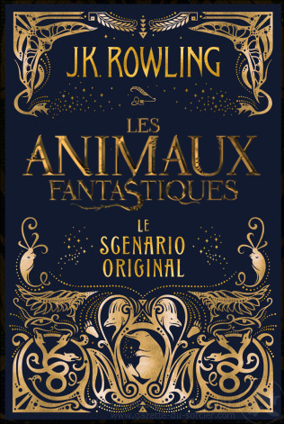 Livre-scénario Les Animaux Fantastiques à paraître en français !