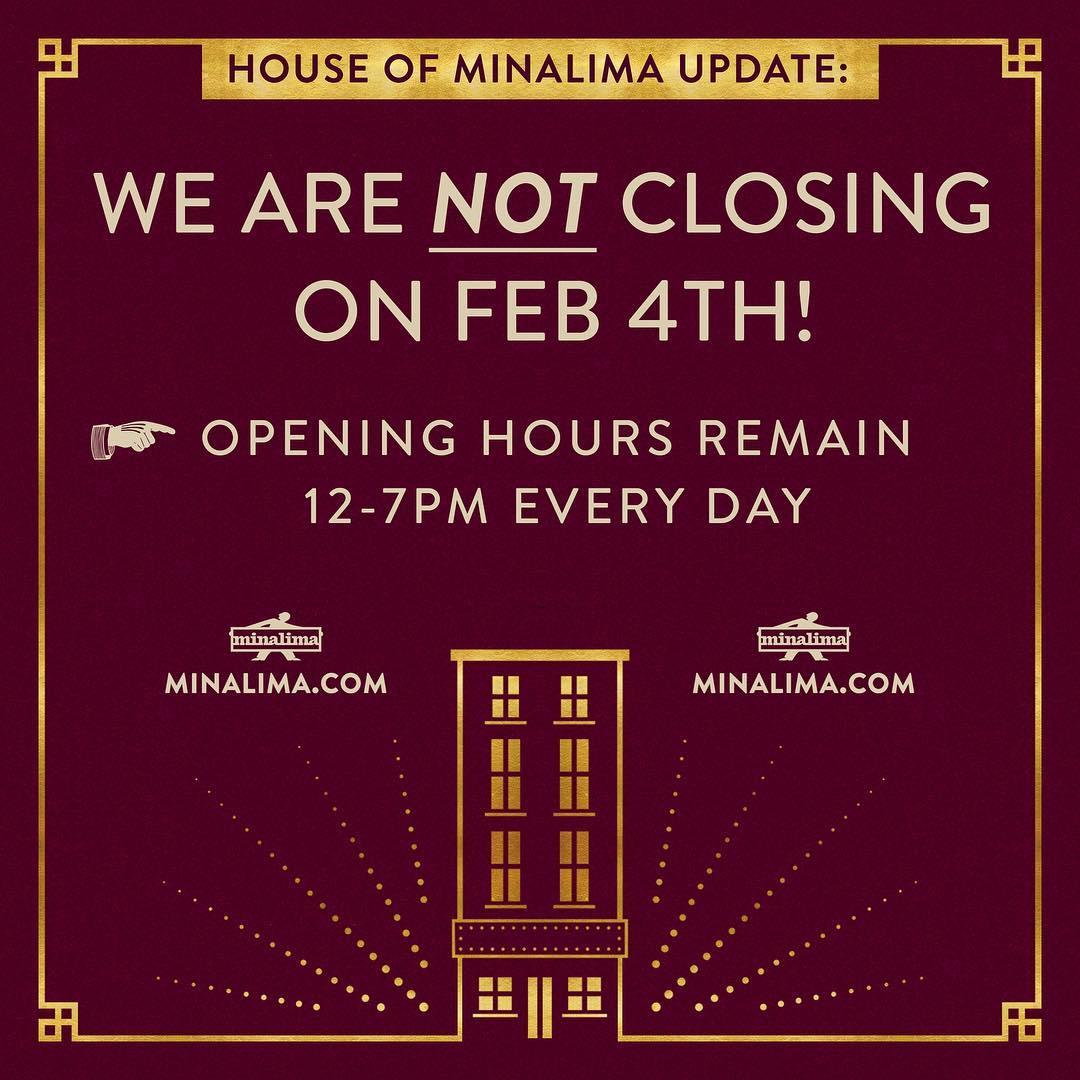 La House of MinaLima restera ouverte indéfiniment !