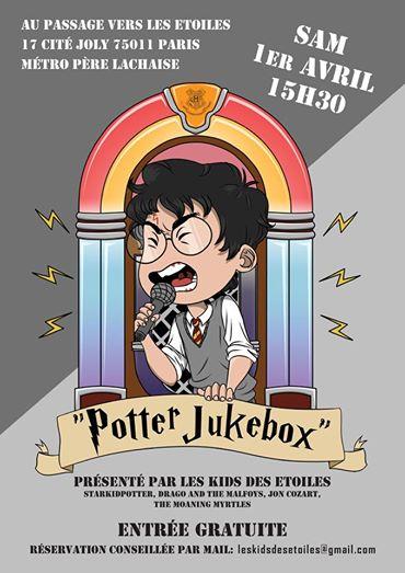 Concours : gagnez deux places VIP pour Potter Jukebox !