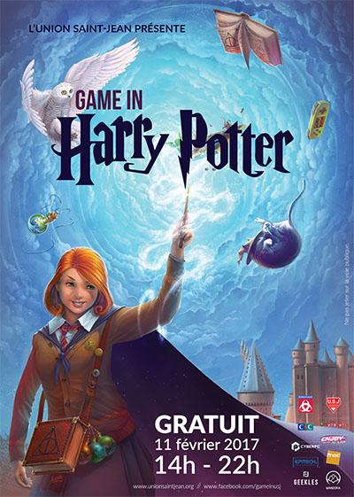 Game In Harry Potter à Bordeaux (11 février) ; un après-midi magique