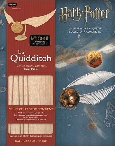 Les Kits Collectors IncrediBuilds Harry Potter de Gallimard : créatures à construire