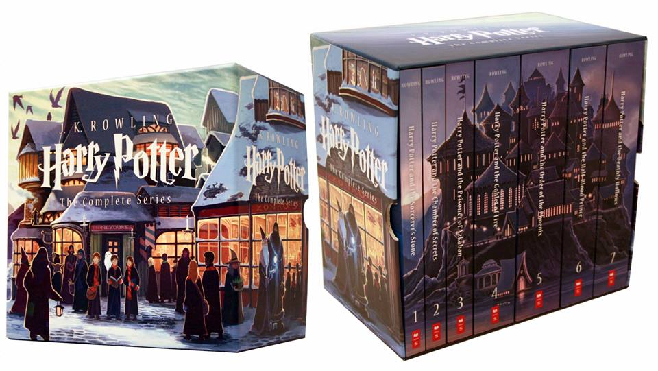 Coffret Harry Potter par Kazu Kibuishi - USA Scholastic