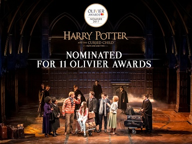 Record de nominations aux Laurence Olivier Awards pour Harry Potter and the Cursed Child