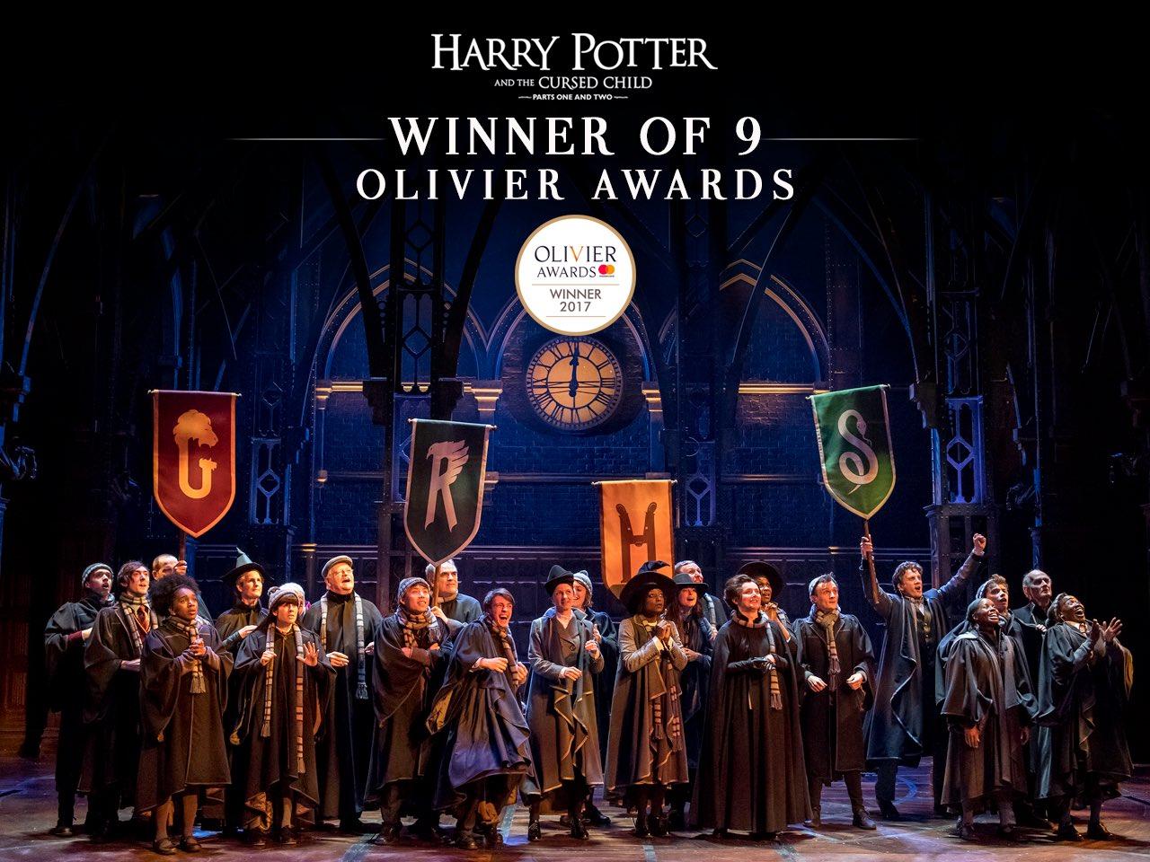 Harry Potter and the Cursed Child bat des records de récompenses aux Laurence Olivier Awards !