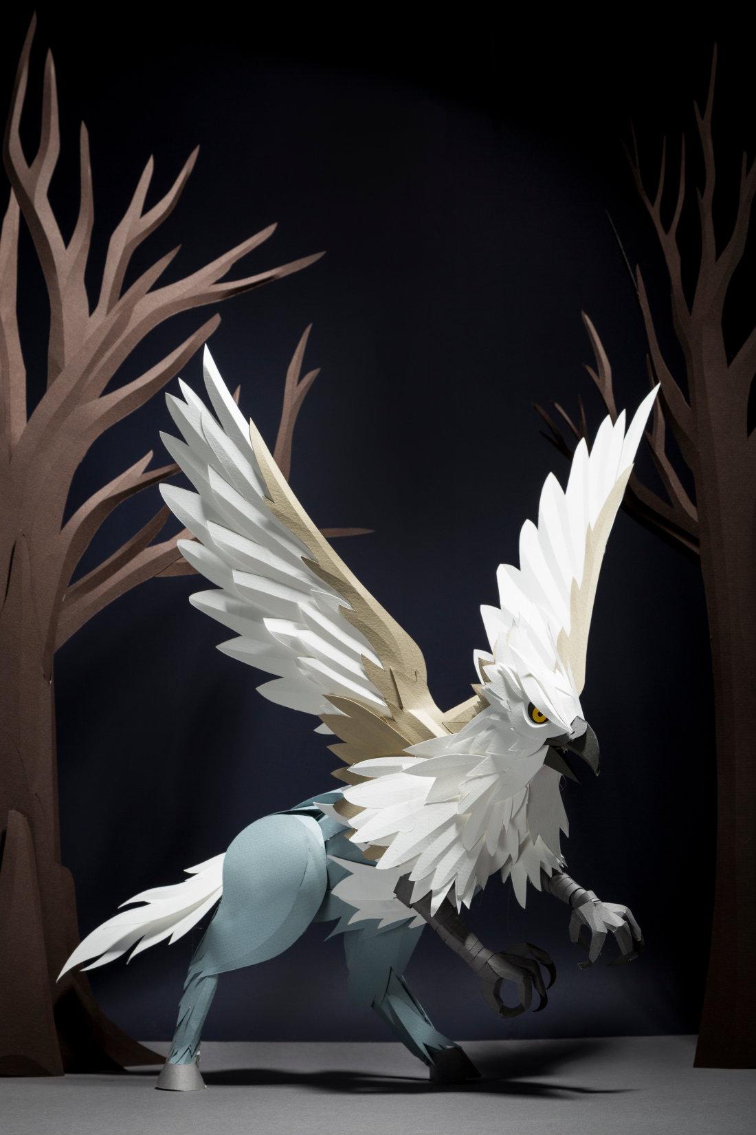 Les animaux fantastiques en papier de Pottermore