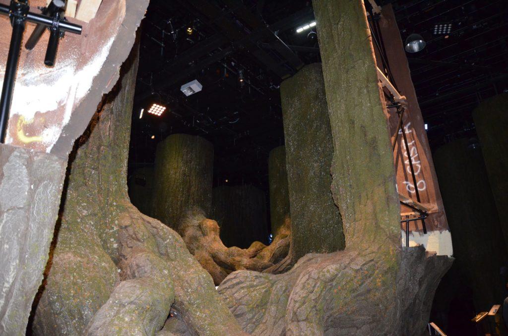 Effet de perspective dans la Forêt Interdite au WB Tour London