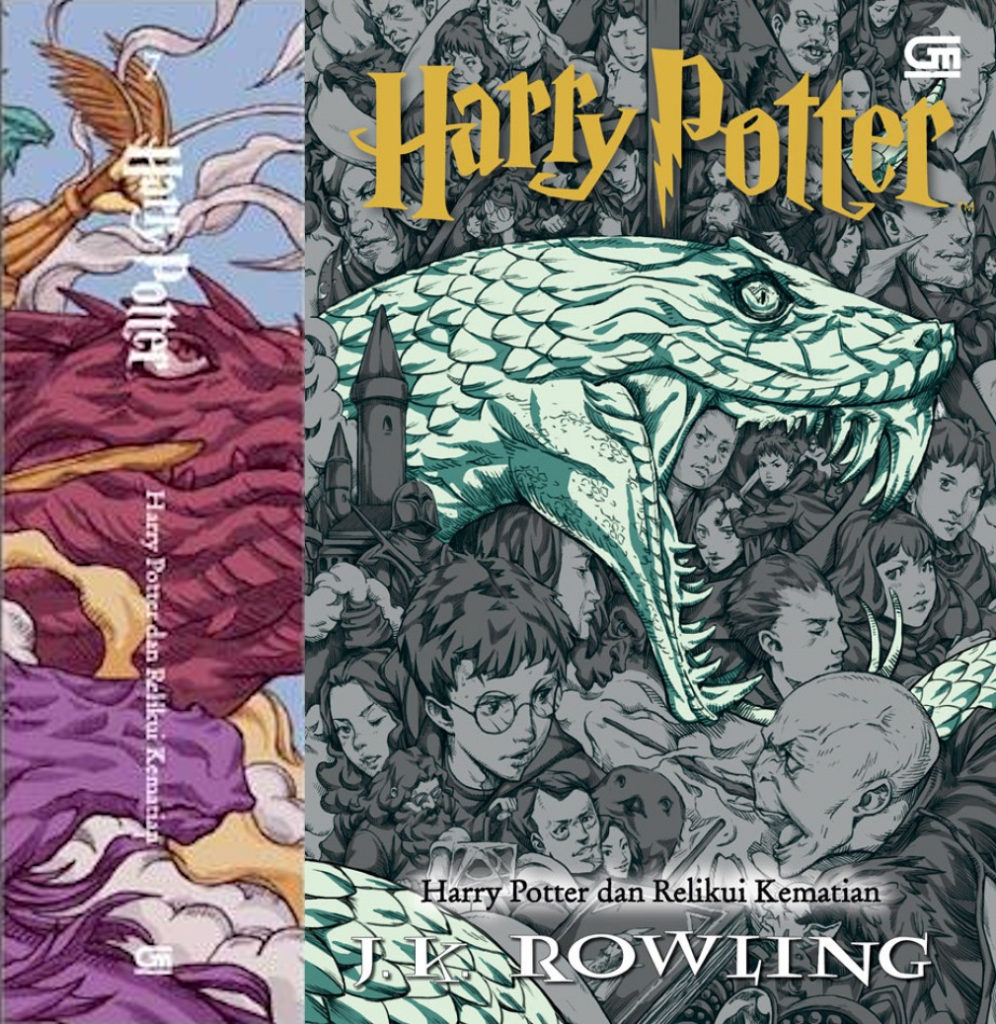 Couverture de Harry Potter et les Reliques de la Mort en Indonésie