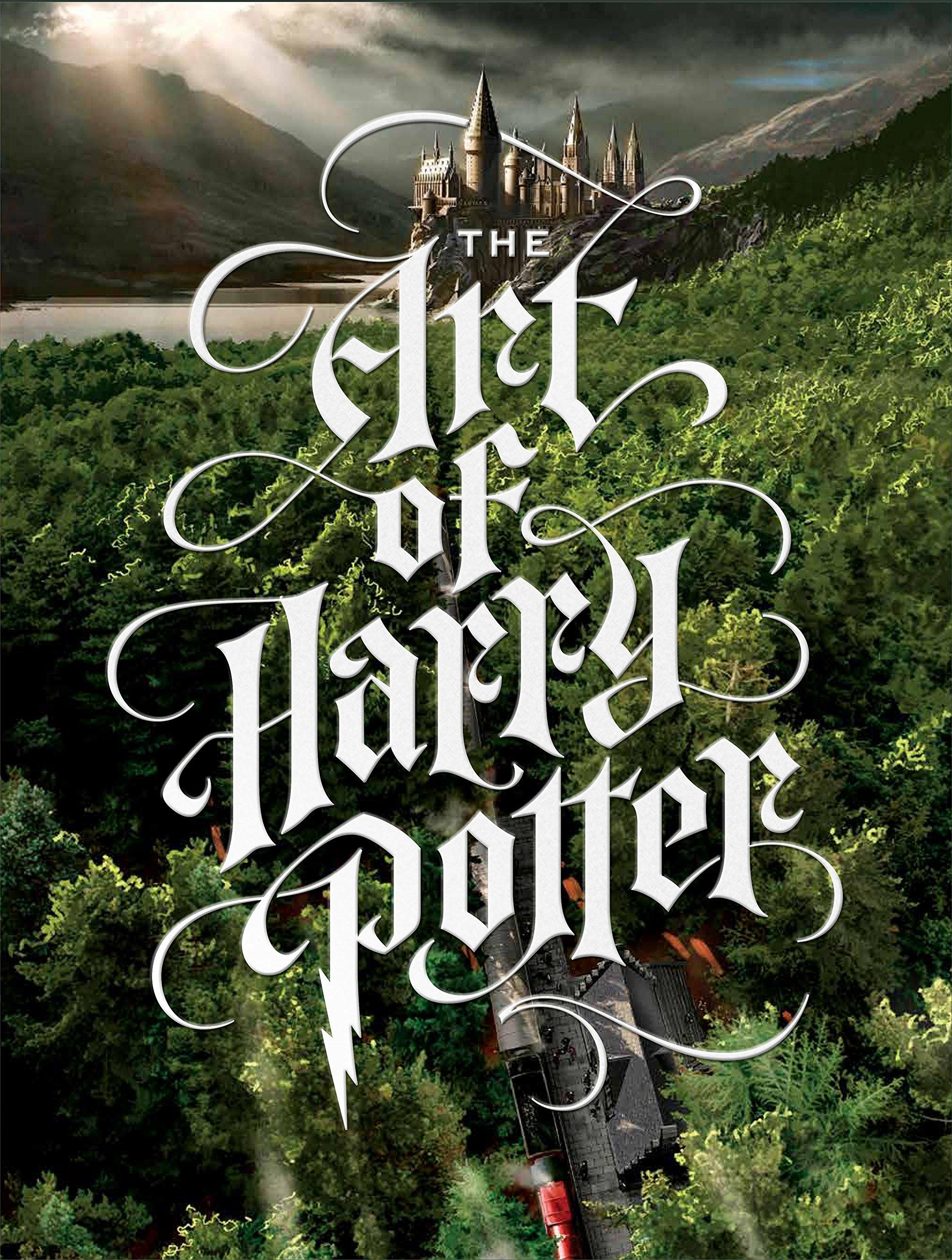 Tout l'art des films Harry Potter ; la couverture du livré dérivé