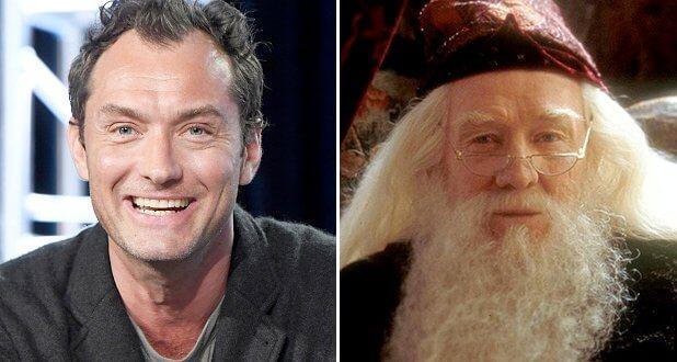Les réactions de Jude Law suite à l'obtention du rôle du jeune Dumbledore
