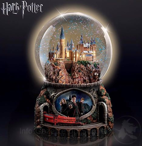 Les horloges Harry Potter kitschissimes de The Bradford Exchange