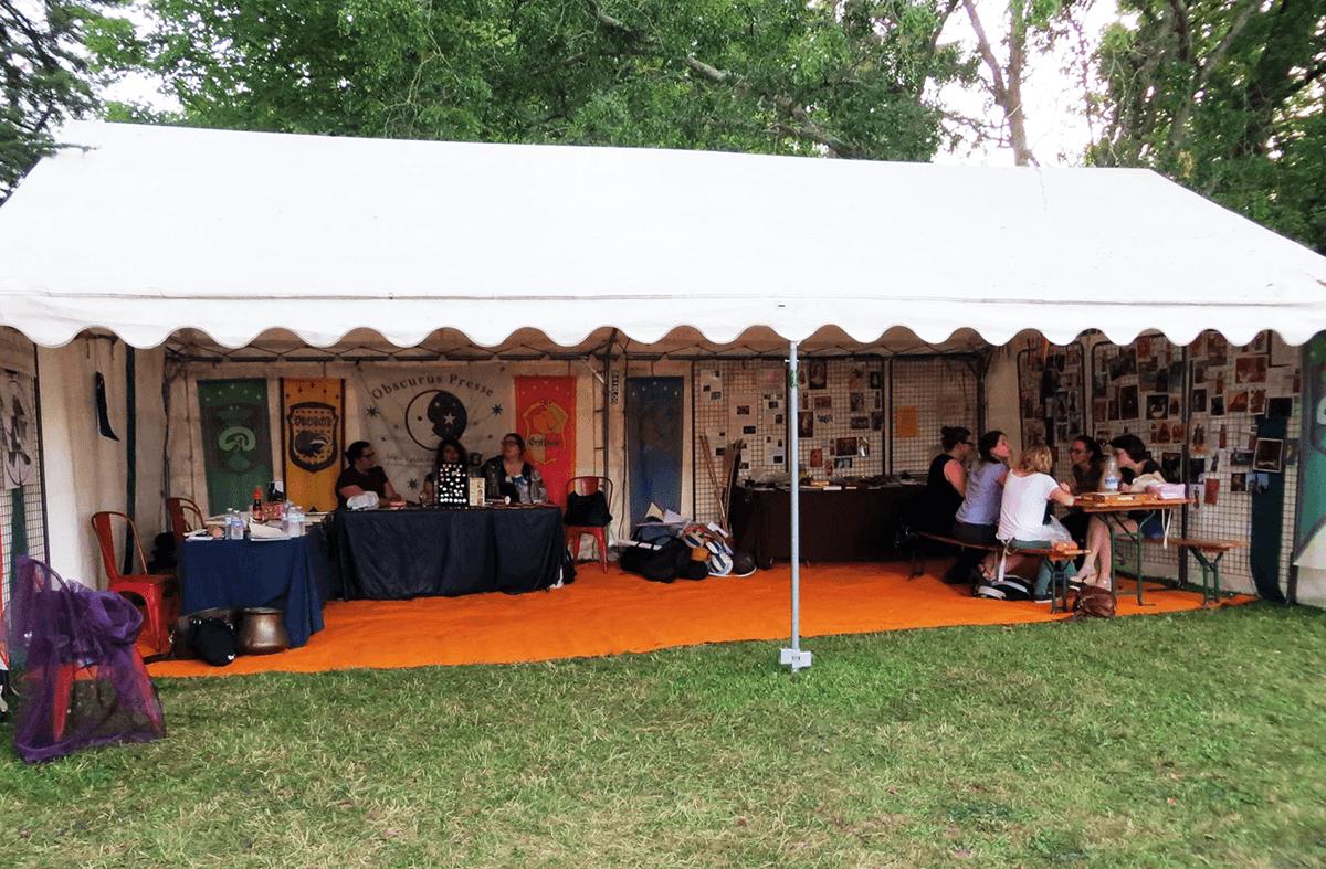 La plus grande zone Harry Potter dans un festival français revient aux Geek Faeries !
