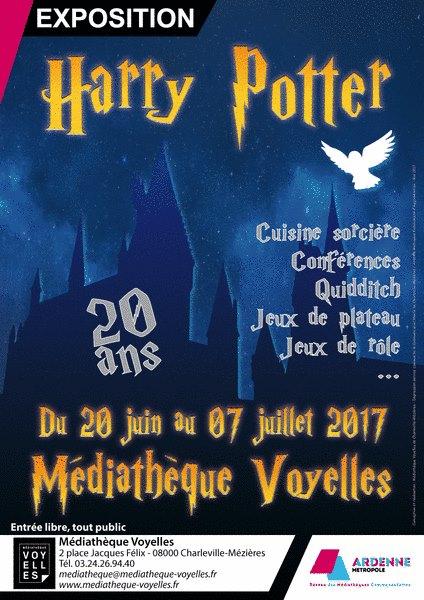 """Exposition """"Sur les pas de Harry"""" à Charleville-Mézières (Ardennes)"""