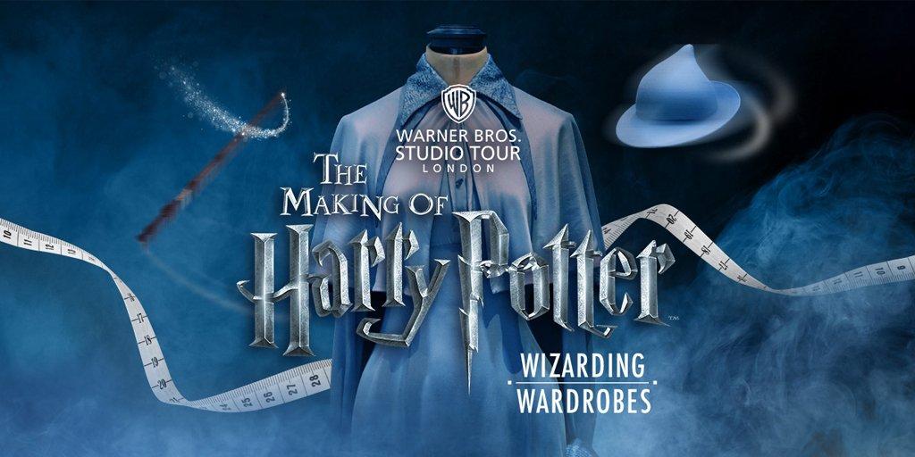 Les costumes de Harry Potter à l'honneur au Studio Tour cet été !