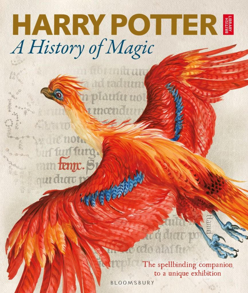Couverture de Harry Potter : A History of Magic - livre de l'exposition à la British Library