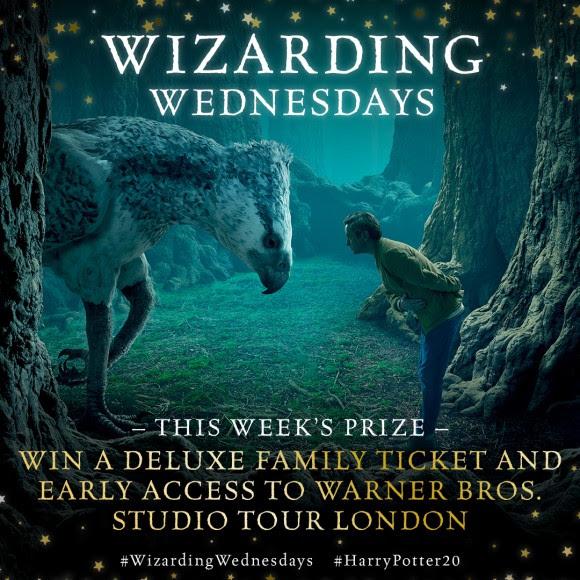 'Wizarding Wednesdays' : gagnez des prix pour les 20 ans de Harry Potter avec Bloomsbury !