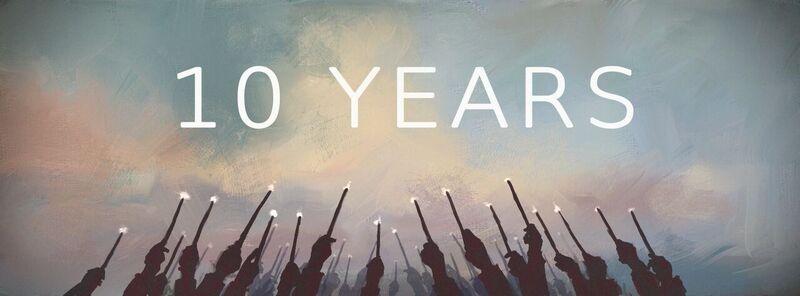 10 ans de fin de Harry Potter ?