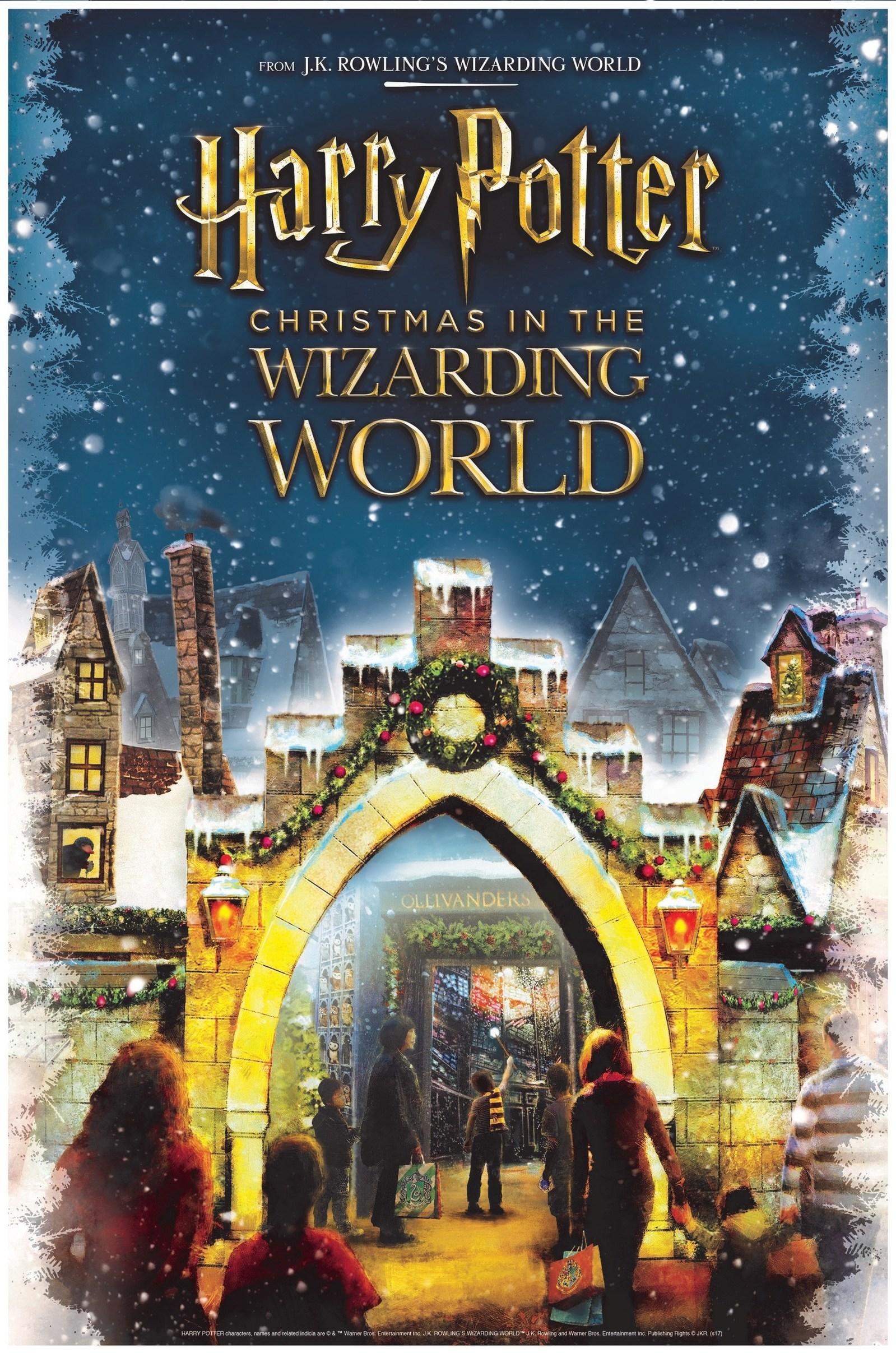 Des magasins temporaires Harry Potter pour Noël