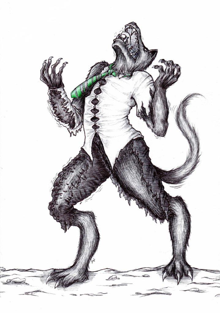 Drago Loup-Garou par Slyis