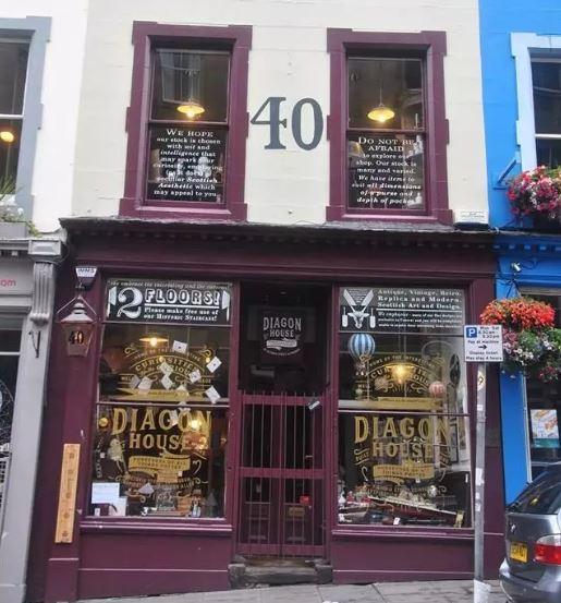 Une nouvelle boutique Harry Potter à Edimbourg