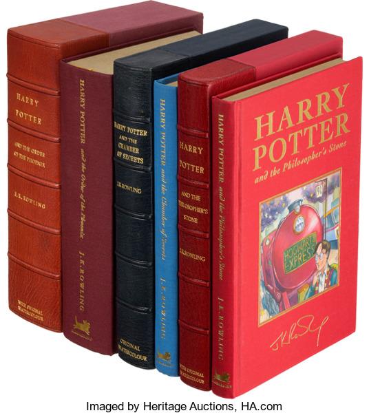 Des illustrations originales de Harry Potter aux enchères