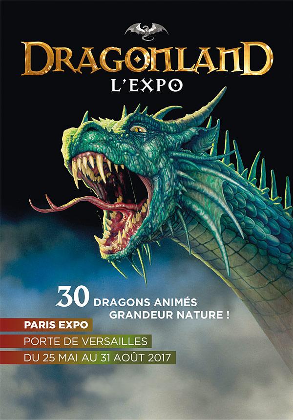Découvrez le Dracorex Hogwartsia à l'exposition Dragonland (Paris)