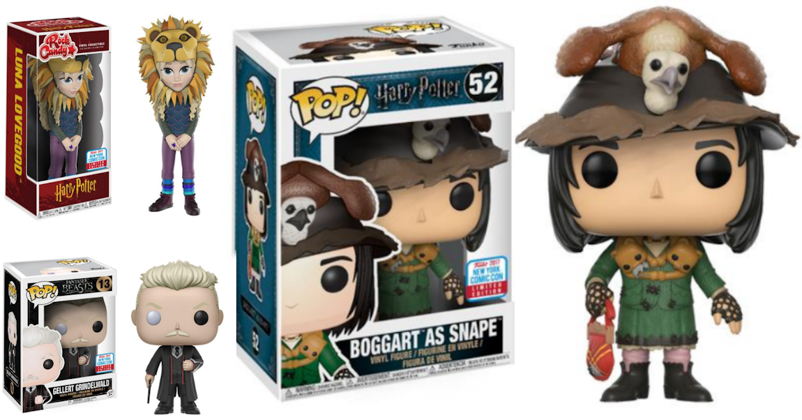 3 nouvelles Funko Pop Harry Potter pour la New-York Comic Con !