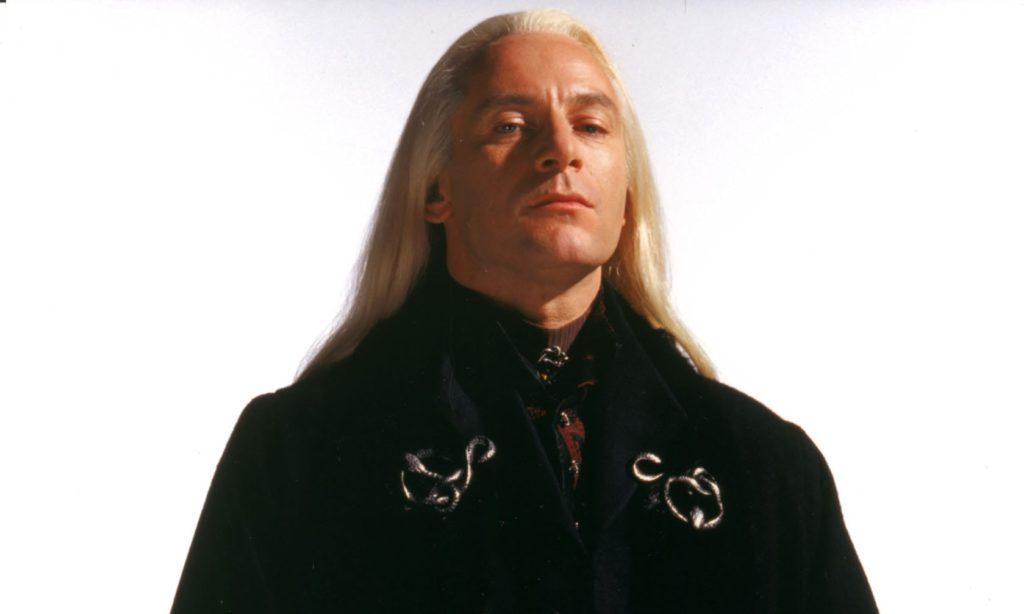 Image promotionnelle de Lucius Malefoy dans les films Harry Potter
